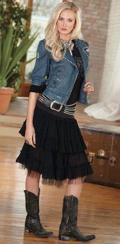 Saloon Skirt   marrikanakk.com