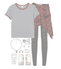 """""""//AllWeKnow//"""" by alex-bows ❤ liked on Polyvore featuring Parisian, Faith Connexion, Monki, Converse and Pieces"""