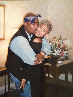 Rare Photo Jada Pinkett & Tupac Shakur