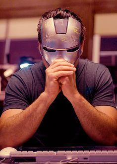 Man behind the mask: Robert Downey Jr.