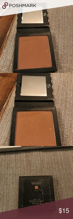 Never Used Beautycounter Bronze #2 Never used product but does have a ding or two as shown. Exterior is a bit messy as it was in a giant make up case. Otherwise perfect. Makeup Bronzer