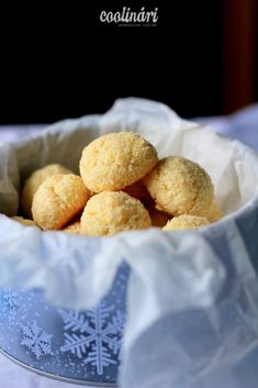 kokosky, recept Pretzel Bites, Bread, Blog, Cakes, Basket, Food Cakes, Pastries, Torte, Bakeries