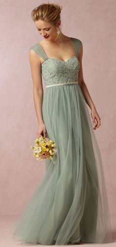 Grayed Jade http://www.theperfectpalette.com/2015/03/shop-look-wedding-pretties-by-bhldn.html