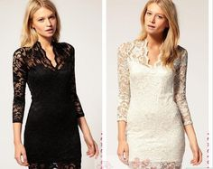 dresses with lace sleeves - Google Search