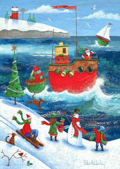 "Peter Adderley - ""Coastal Christmas"""