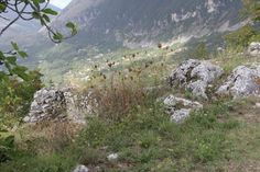 View of the ruins at Monte San Biagio  |   85046 Maratea, Italy