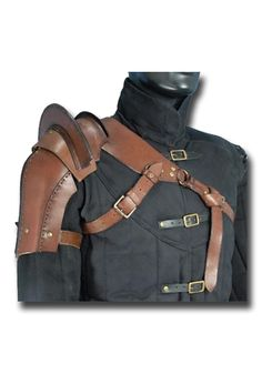 Shoulder Armour, brown