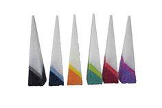Multicolour kaarsen : Multicolour pyramide
