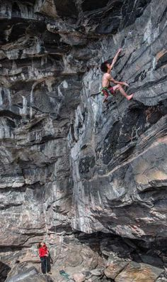 Climb better without training Adam Ondra says your mind is a hindrance to climbing at your highest level. To really climb hard, you must discard mental baggage—and, apparently, your shoes. Photo: Claudia Ziegler.