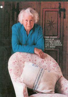 Elizabeth Baer - my textile mentor!