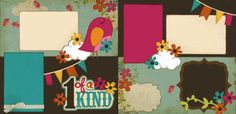 1 Of A Kind - Girl Page Kit