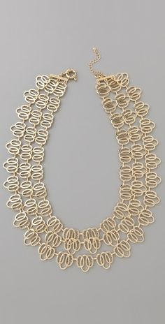 Juliet & Company Lacet Necklace - StyleSays