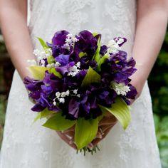 Purple Bridal Boquet