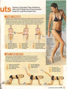 Tracy Anderson hips & thighs workout