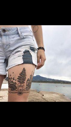 Girl Leg Tattoos, Dope Tattoos, Body Art Tattoos, Sleeve Tattoos, Upper Arm Tattoos, 1 Tattoo, Piercing Tattoo, Piercings, Lace Tattoo