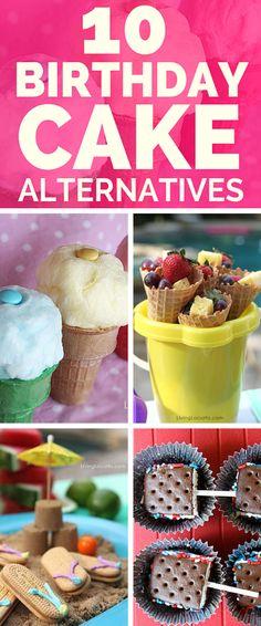 10 Fun Birthday Cake Alternative Dessert Ideas!
