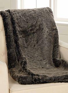 Natural faux-fur throw 130 x 150 cm Faux Fur Throw, Blanket, Natural, Room, Design, Faux Fur, Duvet, House Beautiful, Stream Bed