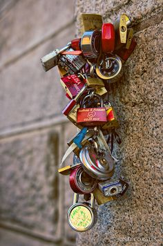 Love Padlocks - Brooklyn Bridge