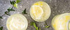 Itsetehty sitruunalimonadi eli lemonade maistuu kuumana kesäpäivänä. Laimenna juoma makusi mukaan. Tämäkin resepti vain n. 0,55€/annos*