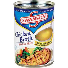 1 cup, fat-free, reduced-sodium chicken broth, such as Swanson's Veal Saltimbocca, Mashed Potatoes, Food To Make, Homemade, Meals, Canning, Chicken, Recipes, 1 Cup