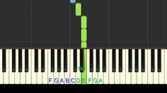 How to play O Little Town of Bethlehem on your piano or keyboard.