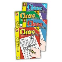 Cloze Reading Set), Give your students significant growth in reading comprehension with this step-by-step series. Cloze Reading, 5th Grade Reading, Reading Passages, Student Reading, Reading Comprehension, Making Connections, Ghost Busters, Reading Levels, 5th Grades