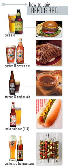 How to pair beer and BBQ