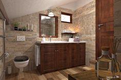 MALÉ KÚPEĽNE - Riešenia & Dizajn / BENEVA Double Vanity, Mirror, Bathroom, Furniture, Home Decor, Washroom, Decoration Home, Room Decor, Mirrors
