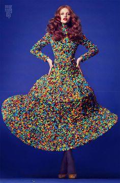 Candy Dress.  Magazine: Virgine #1