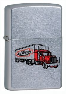 Truck Zippo lighter now available from Zippo UK now only £17.50 ​Street Chrome™. Packaged in an environmentally friendly gift box. Lifetime Guarantee.