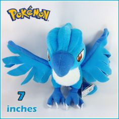 Pokemon Plush Articuno Soft Toy Nintendo Stuffed Animal Teddy Collectible Doll   eBay