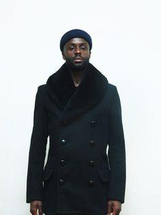 Schott Fur Collar Coat