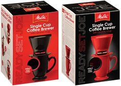 Melitta 64012 1 Cup Pour-Over Coffee Brewer With Mug * Click on the image for additional details.