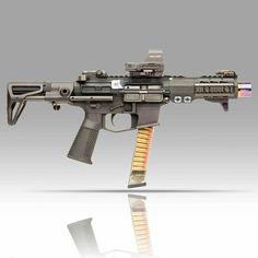 Tactical Rifles, Firearms, Shotguns, Weapons Guns, Guns And Ammo, Ar15 Pistol, Battle Rifle, Arsenal, Submachine Gun