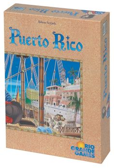 Puerto Rico. We've played this game once and it was a lot of fun.