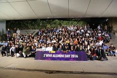 #WWIAlumni at the 2nd #WWIALumniDay! It was a moment of pleasure and pride to see so many old faces, who were students once and are now making it begin the media and entertainment industry as competent professionals.