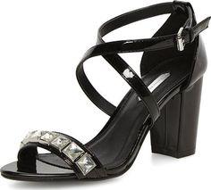 Womens Black Embellished Sandals Black #Dorothy Perkins #Sandals #Dorothy Perkins #fashion #obsessory #fashion #lifestyle #style #myobsession