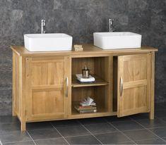 mueble de madera de estilo rústico