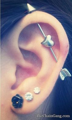 This is what i want my ear to look like!