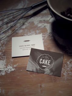 Rustic oven mitt logo and customizable business card template for my moms cake logo and business card for my mom by adrienn nagy via behance reheart Choice Image