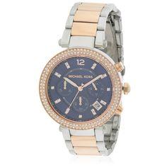 8e82bc7eabd1 Michael Kors Parker Two-Tone Ladies Watch MK6141