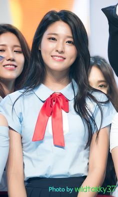 Seolhyun's cute dimples!