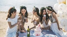 18 Insta Captions For Your Bachelorette Party When It's Time To Pop Bottles Wedding Captions For Instagram, Instagram Party, Good Instagram Captions, Bachelorette Party Quotes, Vegas Bachelorette, Bachelorette Party Planning, Party Captions, Cute Captions, Picture Captions