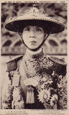 Emperor Khải Định Viet Nam