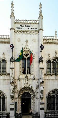 Real Gabinete Portugues de Leitura.  Rio de Janeiro  Brasil