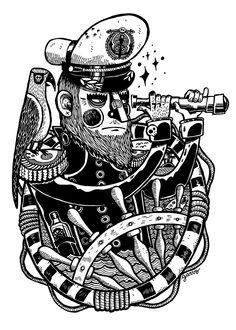 The Captain by Garvo