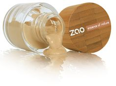 Partenaire Maquillage Bio et Vegan ZAO Soie de teint bio 100% naturel