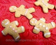 *  Delícias e Companhia  *: Bolachas de gengibre (Gingerbread Men)
