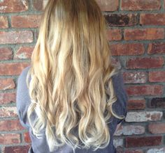 Gorgeous light Brown to Blonde Haircolor by Hair Trendz Stylist Teresa