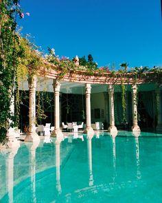 Aruba Caribe, Beautiful Buildings, Beautiful Places, Dream Home Design, House Design, Dream Pools, Travel Aesthetic, House Goals, Exterior Design